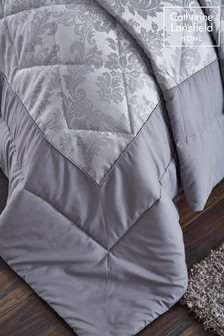 Damask Jacquard Bedspread by Catherine Lansfield