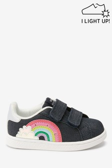 Light Up Rainbow Trainers (Younger)
