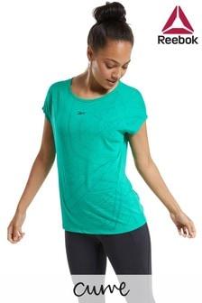 Reebok Curve Burnout T-Shirt