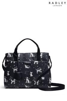Radley London Maple Cross Fun Pups Medium Zip Top Multiway Bag