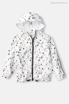 Angel & Rocket Foil Animal Print Windcheater Jacket