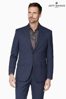 Jeff Banks Blue Soho Regular Fit Suit Jacket