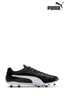 Puma® Black Monarch FG Lace-Up Training Shoes
