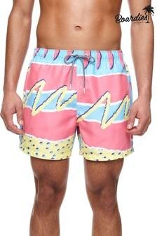 Boardies Fresh Prince Mid Length Swim Shorts