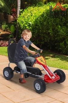 Kids Pedal Go Kart With Hand Brake By HOMCOM