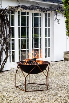 Outdoor Buckingham Firebowl by Ivyline