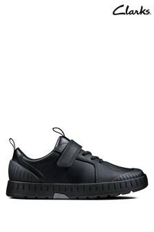Clarks Black Apollo Step T Shoe