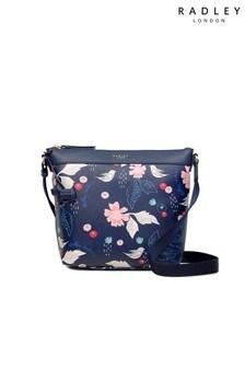 Radley London Painterly Floral Medium Zip Top Cross Body Bag
