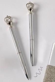 Set of 2 Harper Crown Pens
