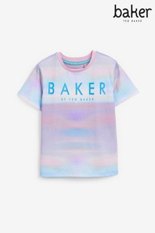 Baker by Ted Baker Unisex Tie Dye T-Shirt