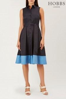 Hobbs Blue Millie Dress