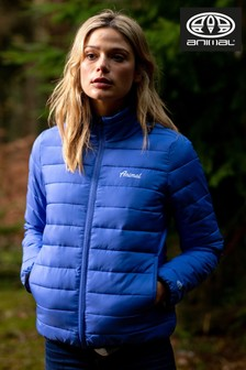 Animal Amparo Blue Pour Lightweight Jacket