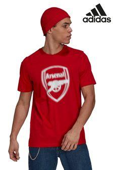 adidas Red Arsenal Big Logo T-Shirt