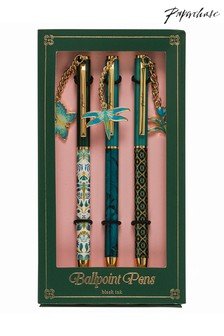 Set of 3 Paperchase Twist Pens With Charms