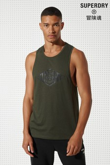 Superdry Training Drop Arm Hole Tank Top