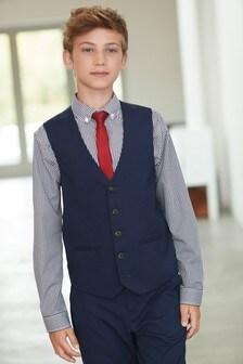 Waistcoat/Shirt/Tie Set (12mths-16yrs)