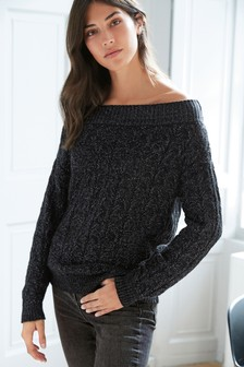 Stitch Bardot Jumper