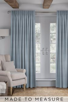 Jasper Powder Blue Made To Measure Curtains
