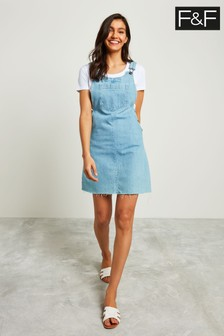 F&F Blue Denim Mini Dress