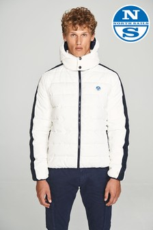 North Sails White Santander Jacket
