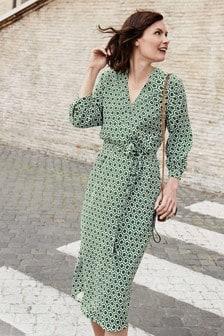 Boden Green Florence Dress