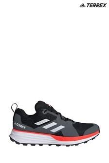 adidas Terrex Grey/Black Terrex Two Trainers