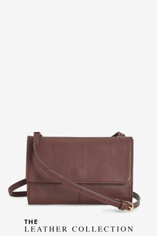 Leather Across-Body Bag