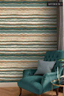 Mineral Stripe Wallpaper by Arthouse