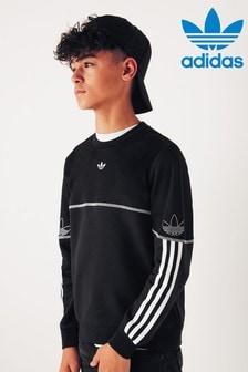 adidas Originals Black Spirit Crew Top