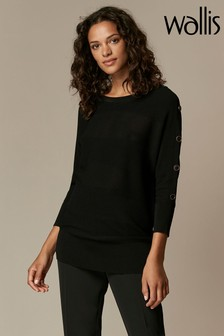 Wallis Black Batwing Jumper
