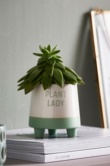 Footed Plant Pot