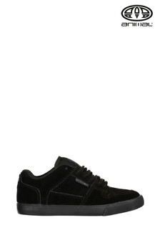 Chaussures de skate Animal Ellis noires pour garçon