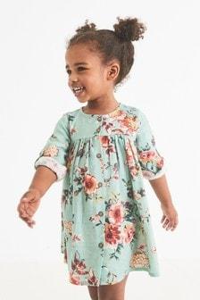 Kleid mit durchgehender Knopfleiste (3Monate bis 7Jahre)