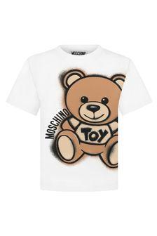 Moschino Kids Boys Cotton T-Shirt