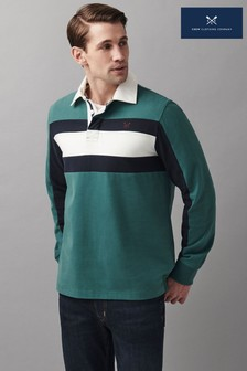 Crew Clothing Company Chest Panel Rugby Shirt
