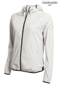 Calvin Klein Golf Grey Arena Windbreaker Jacket