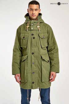 Pretty Green Khaki Canadian Parka