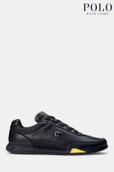 Polo Ralph Lauren Irvine Leather Low Trainers
