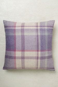 Marlow Woven Check Cushion
