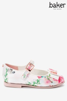 Baker by Ted Baker Floral Mary Jane Shoes