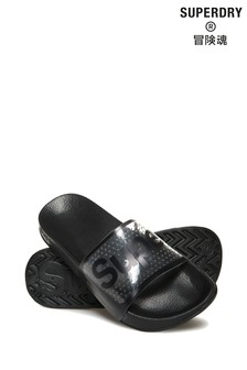 Superdry Perforated Jelly Pool Slider