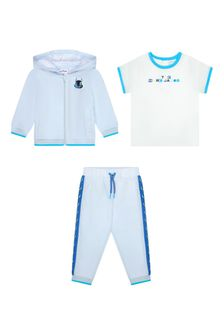 Marc Jacobs Baby Boys Blue Cotton Boys Outfit