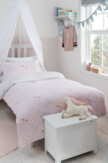 Sophie Allport Unicorn Duvet Cover and Pillowcase Set
