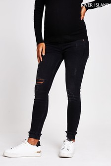 River Island Black Amelie Maternity Jeans