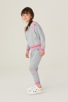 All Over Print Star Jumper (3-16yrs)