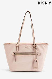 DKNY Soft Pink Nylon Casey Tote Bag