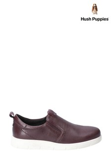 Hush Puppies Purple Lumi Slip-On Trainers