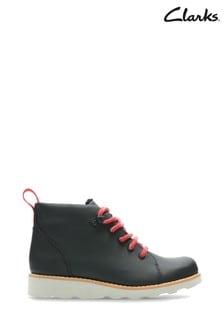 Clarks Black Crown Tor K Boots