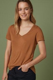 Slouch V-Neck T-Shirt