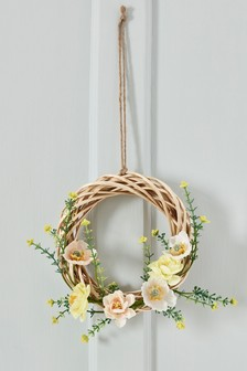 Artificial Floral Hanging Wreath